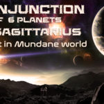 The conjunction of 6 planets on 25 December 2019 and Impacts in India and the Mundane world
